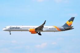 ちっとろむさんが、フランクフルト国際空港で撮影したコンドル 757-330の航空フォト(飛行機 写真・画像)