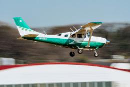 NCT310さんが、調布飛行場で撮影した共立航空撮影 Turbo Stationair TC (T206H)の航空フォト(飛行機 写真・画像)
