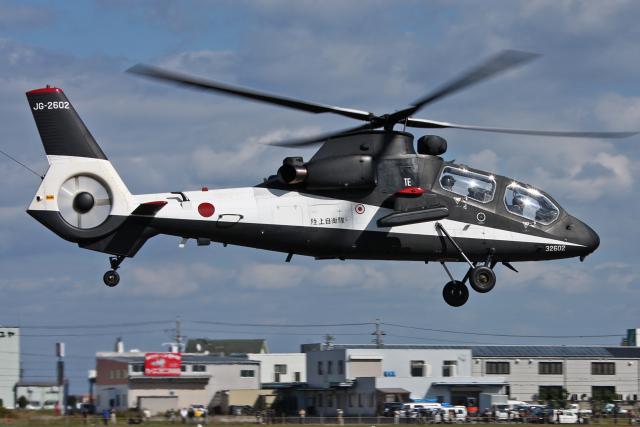 スカルショットさんが、明野駐屯地で撮影した陸上自衛隊 OH-1の航空フォト(飛行機 写真・画像)