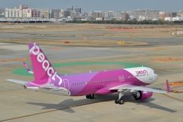 h_wajyaさんが、福岡空港で撮影したピーチ A320-251Nの航空フォト(飛行機 写真・画像)
