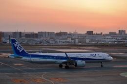 h_wajyaさんが、福岡空港で撮影した全日空 A321-272Nの航空フォト(飛行機 写真・画像)