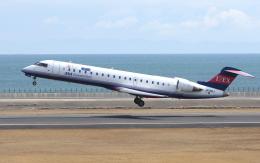 asuto_fさんが、大分空港で撮影したアイベックスエアラインズ CL-600-2C10 Regional Jet CRJ-702の航空フォト(飛行機 写真・画像)