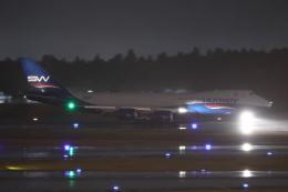 HADAさんが、成田国際空港で撮影したシルクウェイ・ウェスト・エアラインズ 747-83QFの航空フォト(飛行機 写真・画像)