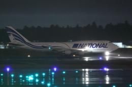 HADAさんが、成田国際空港で撮影したナショナル・エアラインズ 747-412(BCF)の航空フォト(飛行機 写真・画像)
