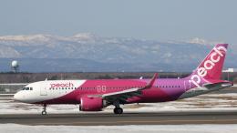 Cassiopeia737さんが、新千歳空港で撮影したピーチ A320-251Nの航空フォト(飛行機 写真・画像)