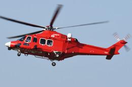 ほてるやんきーさんが、八尾空港で撮影した三井物産エアロスペース AW139の航空フォト(飛行機 写真・画像)