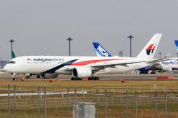 inyoさんが、成田国際空港で撮影したマレーシア航空 A350-941の航空フォト(飛行機 写真・画像)