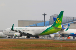 inyoさんが、成田国際空港で撮影した春秋航空日本 737-8ALの航空フォト(飛行機 写真・画像)