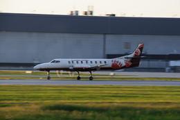 aircanadafunさんが、モントリオール・ピエール・エリオット・トルドー国際空港で撮影したベアスキン航空の航空フォト(飛行機 写真・画像)