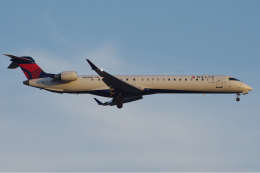 zettaishinさんが、ブラッドレー国際空港で撮影したデルタ・コネクション CL-600-2D24 Regional Jet CRJ-900LRの航空フォト(飛行機 写真・画像)