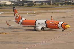 磐城さんが、ドンムアン空港で撮影したノックエア 737-83Nの航空フォト(飛行機 写真・画像)