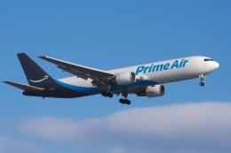 zettaishinさんが、ブラッドレー国際空港で撮影したアマゾン・エア 767-381/ER(BCF)の航空フォト(飛行機 写真・画像)