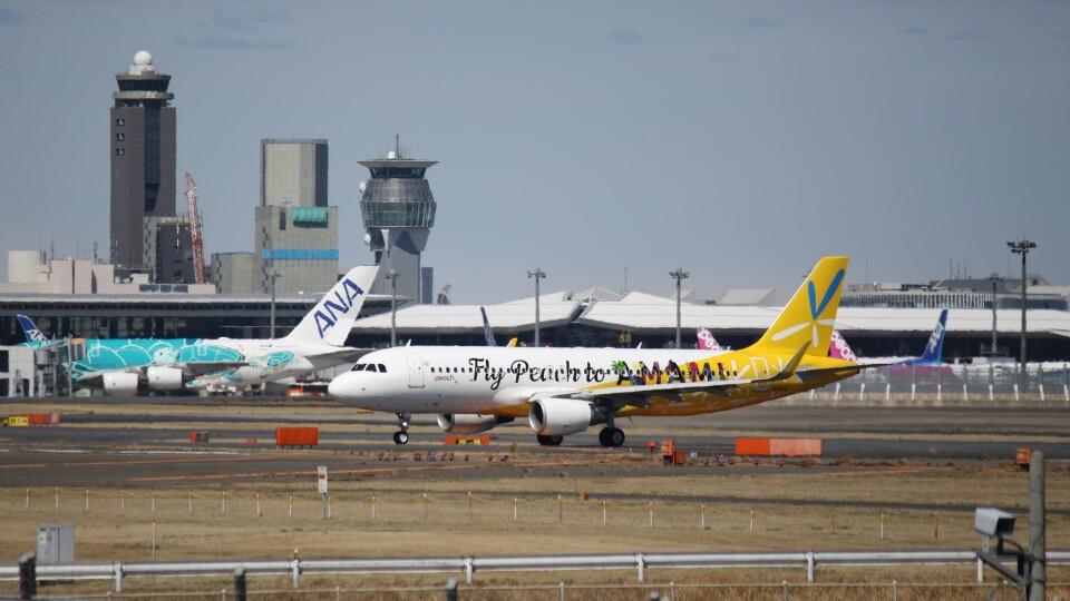 redbull_23さんのピーチ Airbus A320 (JA08VA) 航空フォト