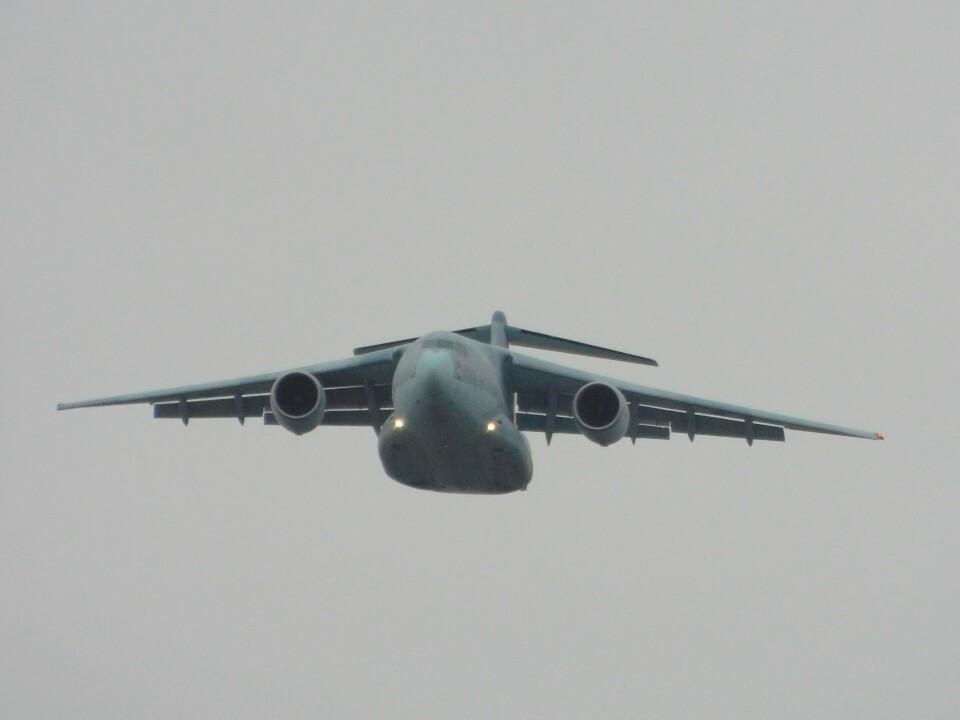 さんまるエアラインさんの航空自衛隊 Kawasaki C-2 (68-1203) 航空フォト