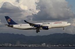 ☆H・I・J☆さんが、関西国際空港で撮影したエジプト航空 A340-212の航空フォト(飛行機 写真・画像)