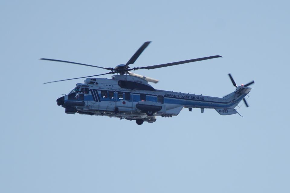 senbaさんの海上保安庁 Airbus Helicopters H225 (JA692A) 航空フォト