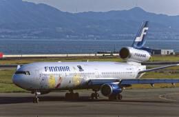 Airliners Freakさんが、関西国際空港で撮影したフィンエアー MD-11の航空フォト(飛行機 写真・画像)