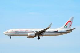 ちっとろむさんが、フランクフルト国際空港で撮影したロイヤル・エア・モロッコ 737-8B6の航空フォト(飛行機 写真・画像)