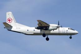 chrisshoさんが、フランクフルト国際空港で撮影したEleron An-26Bの航空フォト(飛行機 写真・画像)