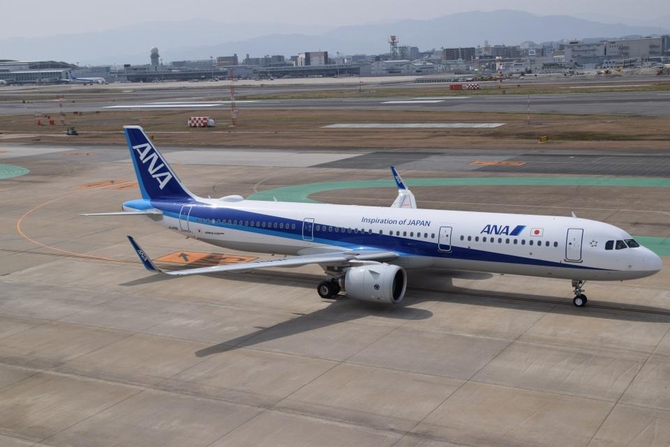 bachi51さんの全日空 Airbus A321neo (JA149A) 航空フォト
