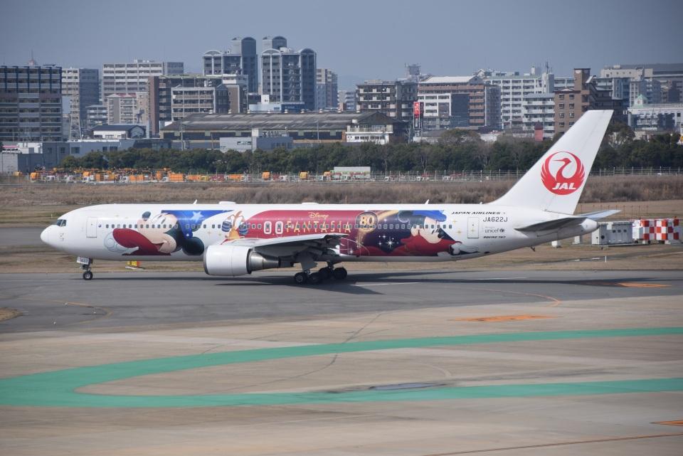 bachi51さんの日本航空 Boeing 767-300 (JA622J) 航空フォト