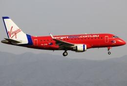 キイロイトリさんが、関西国際空港で撮影したヴァージン・ブルー ERJ-170-100 LR (ERJ-170LR)の航空フォト(飛行機 写真・画像)