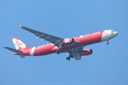 jutenLCFさんが、中部国際空港で撮影したタイ・エアアジア・エックス A330-343Eの航空フォト(飛行機 写真・画像)