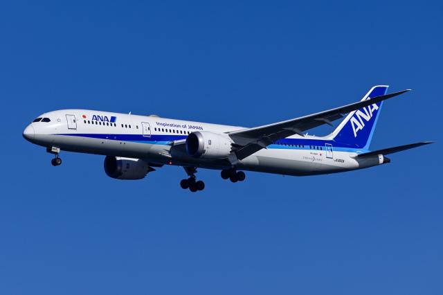 Frankspotterさんが、羽田空港で撮影した全日空 787-9の航空フォト(飛行機 写真・画像)