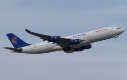 木人さんが、成田国際空港で撮影したエジプト航空 A340-212の航空フォト(飛行機 写真・画像)