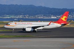 Deepさんが、関西国際空港で撮影した天津航空 A320-232の航空フォト(飛行機 写真・画像)