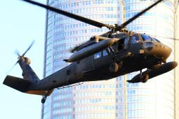 ちゅういちさんが、赤坂プレスセンターで撮影したアメリカ陸軍 UH-60L Black Hawk (S-70A)の航空フォト(飛行機 写真・画像)