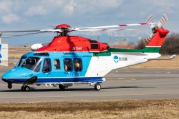 T spotterさんが、新潟空港で撮影した新潟県消防防災航空隊 AW139の航空フォト(飛行機 写真・画像)