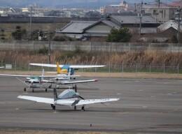 flyflygoさんが、岡南飛行場で撮影した日本個人所有 A36 Bonanza 36の航空フォト(飛行機 写真・画像)