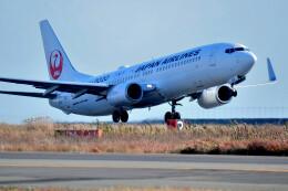 JPN_BASE21さんが、徳島空港で撮影した日本航空 737-846の航空フォト(飛行機 写真・画像)