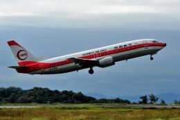 JPN_BASE21さんが、岡山空港で撮影した日本トランスオーシャン航空 737-446の航空フォト(飛行機 写真・画像)