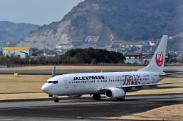 JPN_BASE21さんが、高知空港で撮影したJALエクスプレス 737-846の航空フォト(飛行機 写真・画像)
