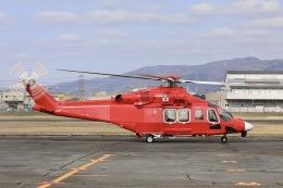 Hii82さんが、八尾空港で撮影した三井物産エアロスペース AW139の航空フォト(飛行機 写真・画像)