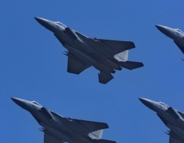 違いがわかる男さんが、防府北基地で撮影した航空自衛隊 F-15DJ Eagleの航空フォト(飛行機 写真・画像)