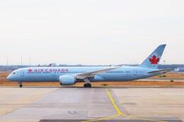 ちっとろむさんが、フランクフルト国際空港で撮影したエア・カナダ 787-9の航空フォト(飛行機 写真・画像)
