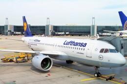 ちっとろむさんが、フランクフルト国際空港で撮影したルフトハンザドイツ航空 A320-271Nの航空フォト(飛行機 写真・画像)