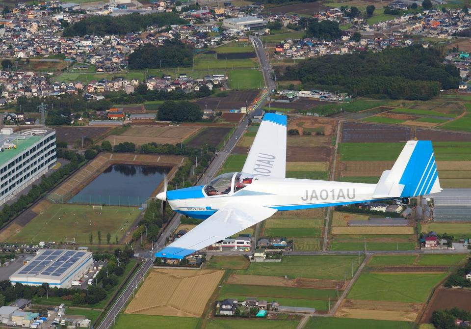 Charlie-Yankeeさんの日本法人所有 Scheibe SF-25 Falke (JA01AU) 航空フォト