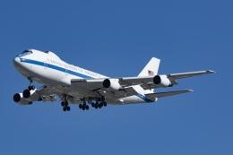 Mochi7D2さんが、横田基地で撮影したアメリカ空軍 E-4B (747-200B)の航空フォト(飛行機 写真・画像)