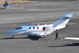 ヨッシさんが、岡南飛行場で撮影した日本法人所有 HA-420の航空フォト(飛行機 写真・画像)