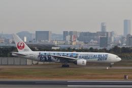 STAR TEAMさんが、伊丹空港で撮影した日本航空 777-289の航空フォト(飛行機 写真・画像)