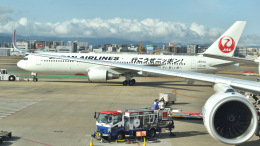 ライトレールさんが、福岡空港で撮影した日本航空 767-346/ERの航空フォト(飛行機 写真・画像)