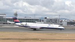 ライトレールさんが、福岡空港で撮影したアイベックスエアラインズ CL-600-2C10(CRJ-702ER)の航空フォト(飛行機 写真・画像)