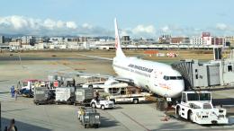 ライトレールさんが、福岡空港で撮影した日本トランスオーシャン航空 737-8Q3の航空フォト(飛行機 写真・画像)