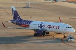 BOEING737MAX-8さんが、中部国際空港で撮影した香港エクスプレス A320-271Nの航空フォト(飛行機 写真・画像)
