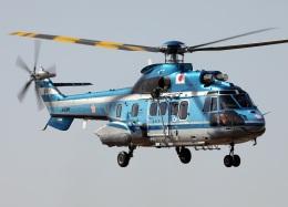voyagerさんが、東京ヘリポートで撮影した警視庁 AS332L1 Super Pumaの航空フォト(飛行機 写真・画像)
