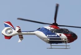 新城 JAL alpha rainbowさんが、伊丹空港で撮影した毎日新聞社 EC135T1の航空フォト(飛行機 写真・画像)